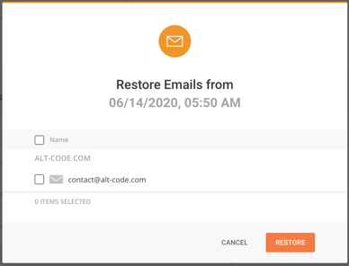 Restore Emails from SiteGround Backup