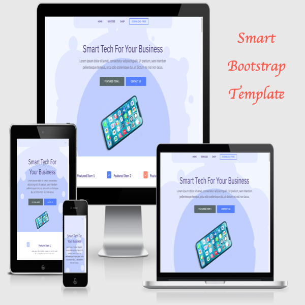 Smart Bootstrap Template