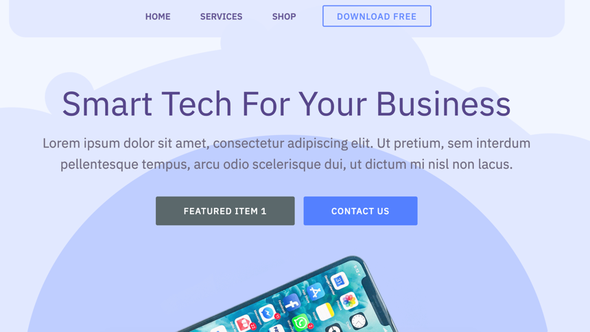 Smart Bootstrap Theme