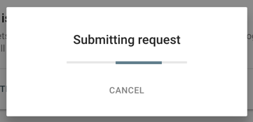 Submit Index Request