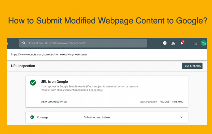 How to Submit Modified Webpage Content to Google?