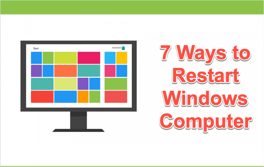 7 Ways to Restart Your Windows Computer