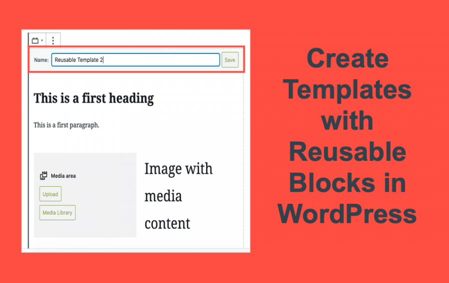 Create Templates with Reusable Blocks in WordPress