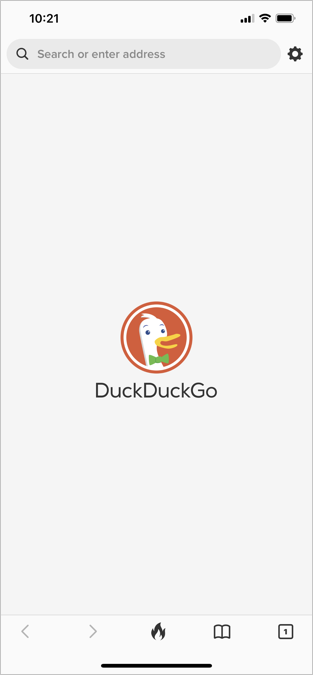DuckDuckGo iPhone App