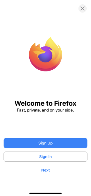 Firefox iPhone App