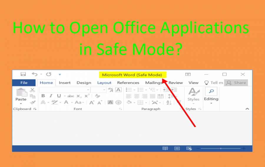 How to Open Office Applications in Safe Mode?