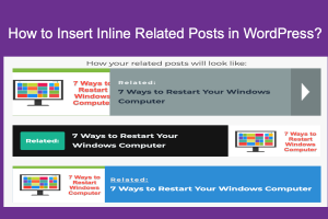 Insert Inline Related Posts in WordPress