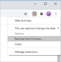 Remove From Chrome
