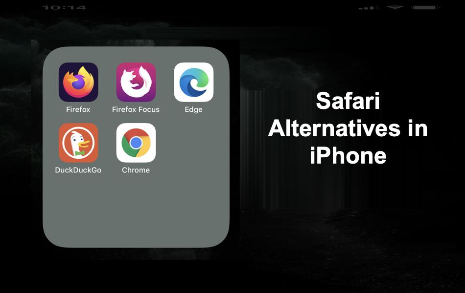Safari Alternatives in iPhone
