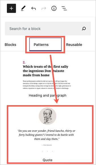 Шаблон цитаты в WordPress