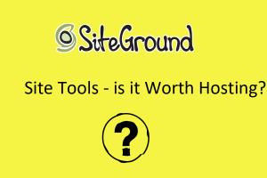 SiteGround Site Tools Hosting