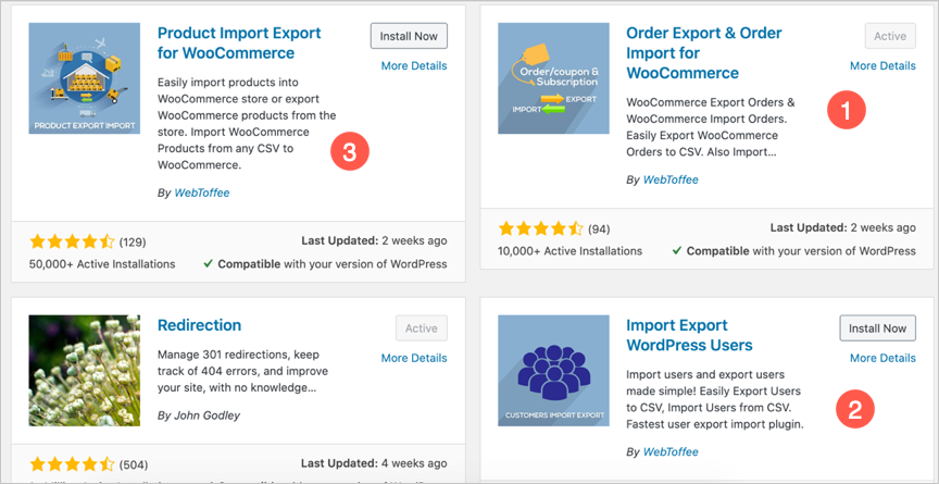 WooCommerce Import and Export Plugins