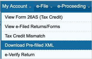 Download Prefilled XML