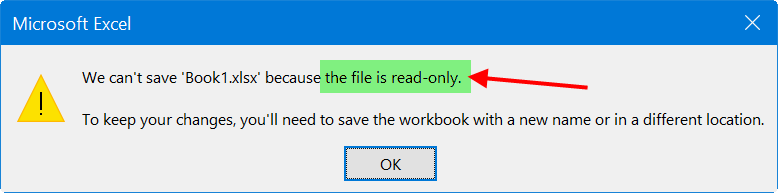 File Read Only