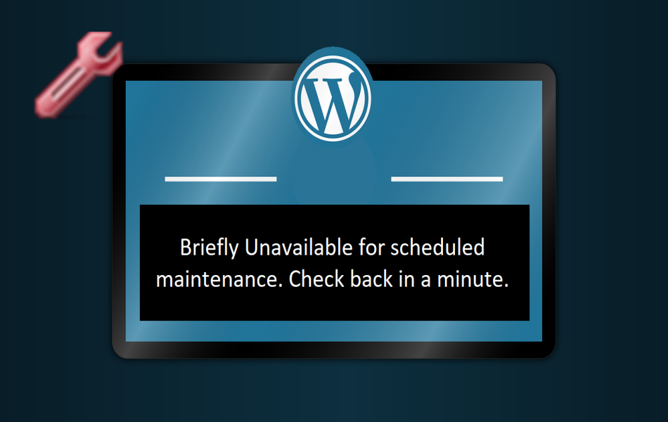 Fix Briefly Unavailable Error in WordPress
