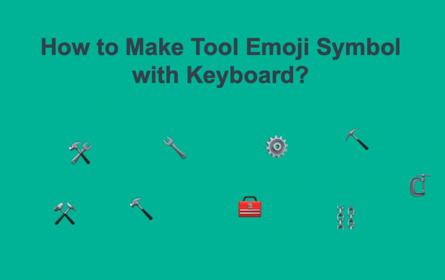 How to Make Tool Emoji Symbols?