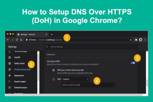 How to Setup DNS Over HTTPS in Google Chrome?