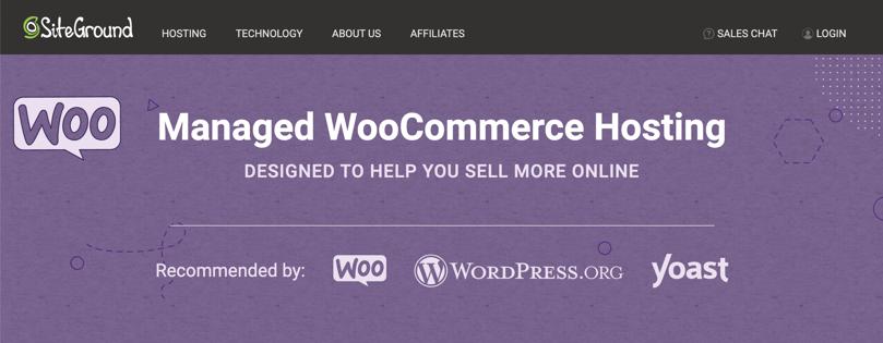 Managed WooCommerce Hosting from SiteGround