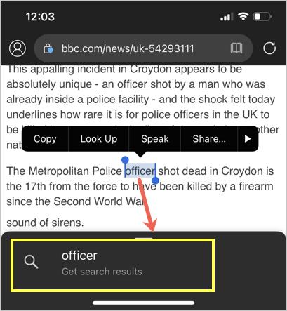 Use Bing Contextual Search in Edge App