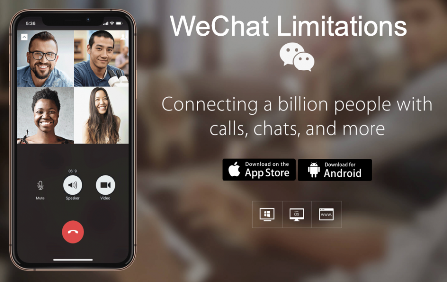 WeChat Limitations
