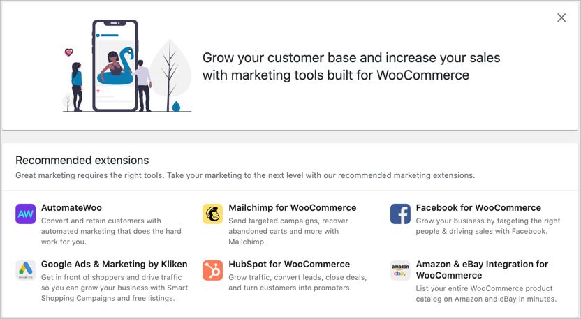 WooCommerce Marketing Add-ons