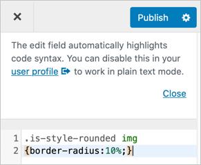 Add Custom CSS in WordPress