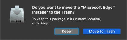 Delete Installer Package