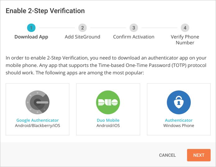 Скачать приложение Authenticator