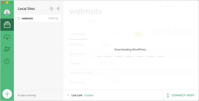 Downloading and Installing WordPress