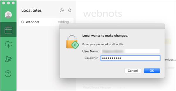 Enter Computer Admin Detail