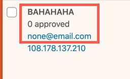 Fake Name and Email
