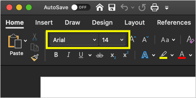 Font Settings Changed