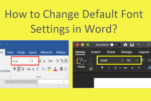 How to Change Default Font Settings in Word?