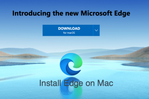 How to Install Microsoft Edge Browser in Mac?