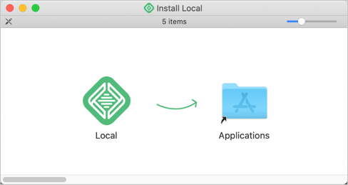 Install Local App