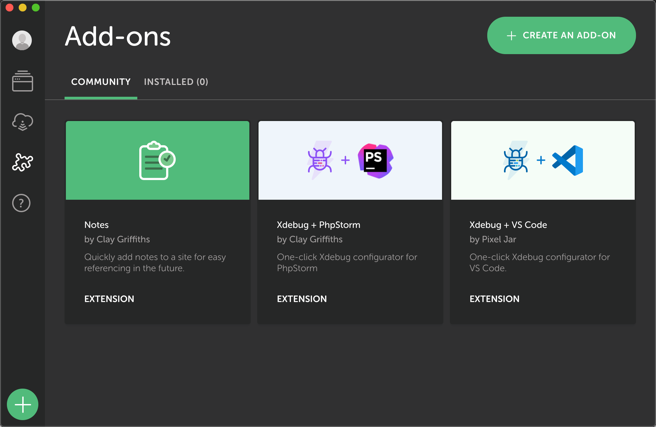 Integrated Add-ons Section