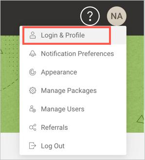 Войти в профиль SiteGround