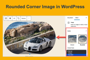 Rounded Corner Image in WordPress