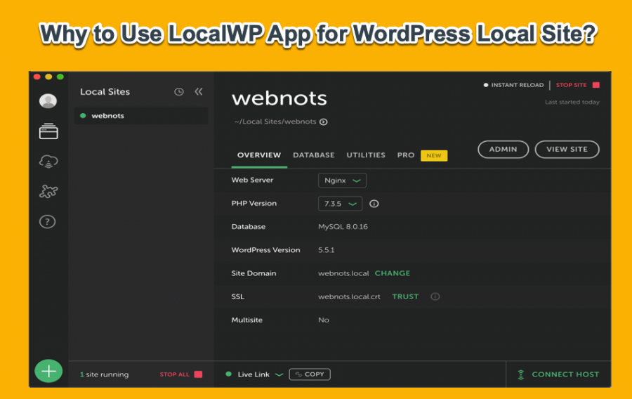 Why to Use LocalWP App for WordPress Local Site?