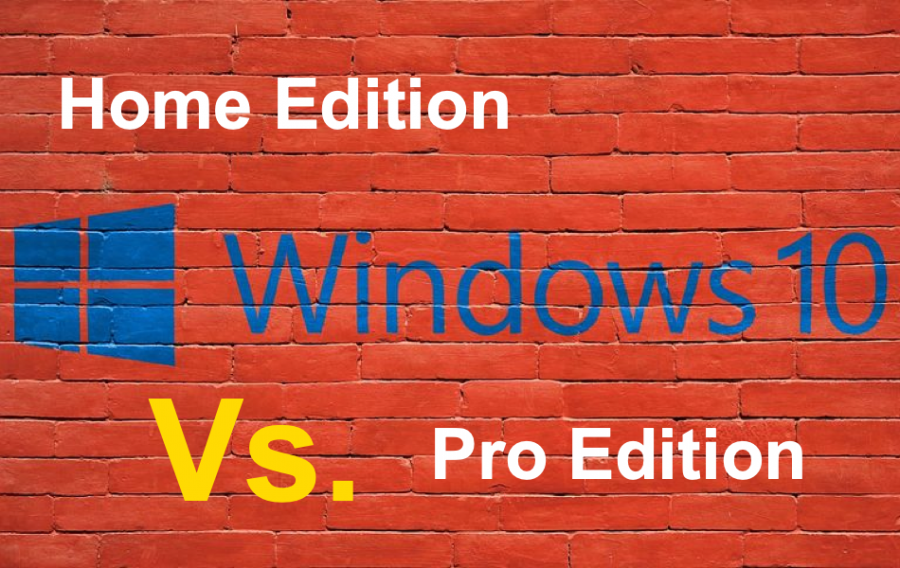 Comparison of Windows 10 Home Vs Pro Editions