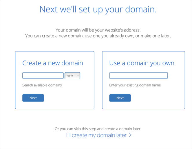 Create Free Domain in Bluehost