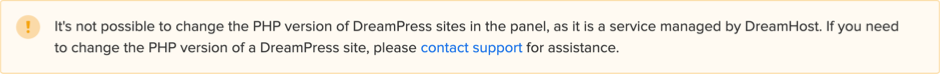 DreamHost PHP Restriction
