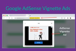 Google AdSense Vignette Ads