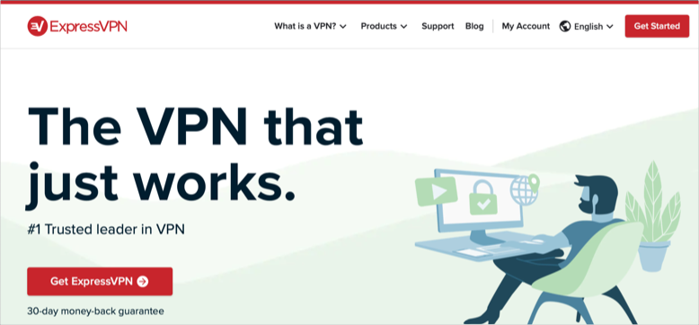 Signup for ExpressVPN