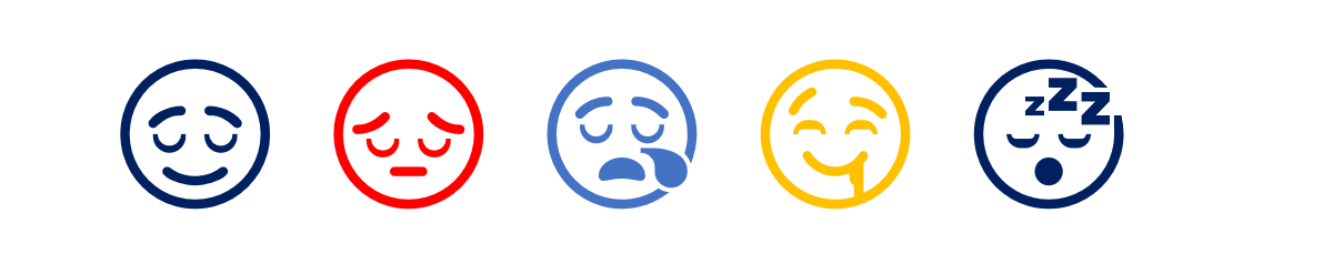 Sleeping Face Emoji in Word