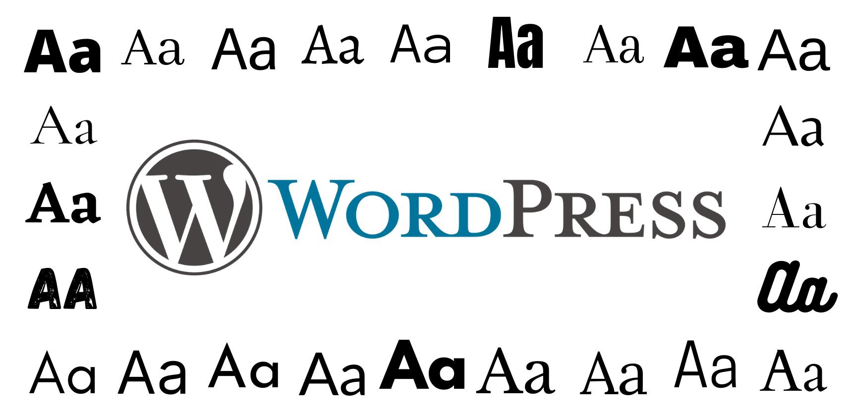 Change Font in WordPress