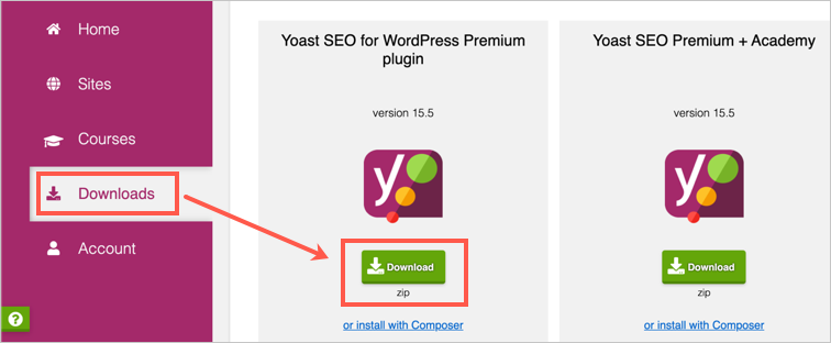 Download Yoast SEO Premium Plugin