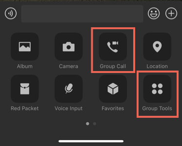 Group Call and Group Tools