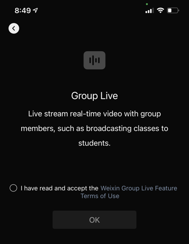 Group Chat Live Streaming
