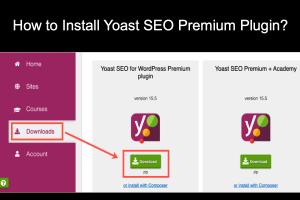 How to Install Yoast SEO Premium Plugin?